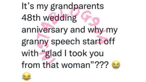 Man reveals what his grandmother said on her 48th wedding anniversary