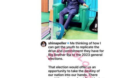 2023 elections: I'm thinking of how to get the youth to replicate the energy they've for BBN — Hon. Shina Peller