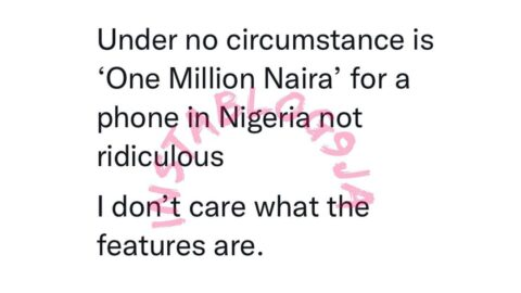 N1million for a phone in Nigeria is ridiculous — Media personalty, Yomi