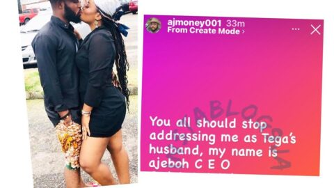 Tor, BBN's Tega's husband warns Nigerians to stop calling him Tega's husband 😟