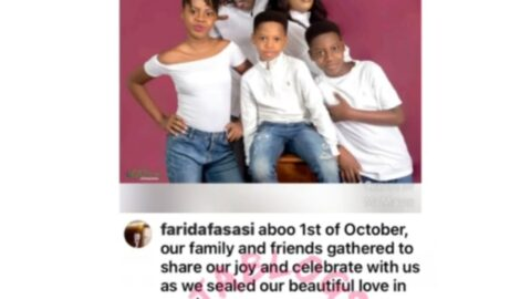 """""""You're irreplaceable,"""" late Sound Sultan's wife, Farida, says, as she celebrates their 12th wedding anniversary"""