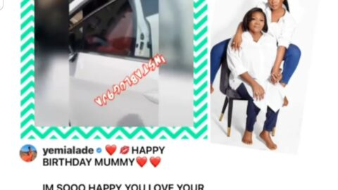 Singer Yemi Alade gifts her mum an SUV on her birthday