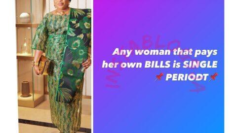 Bills Payment: Actress Kemi Afolabi shares her opinion