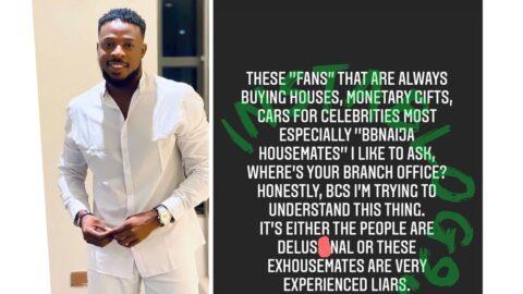 Actor Godwin Nnadiekwe questions BBN stans