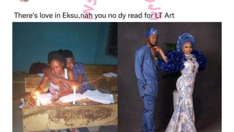 EKSU students who read together in night class, tie the knot
