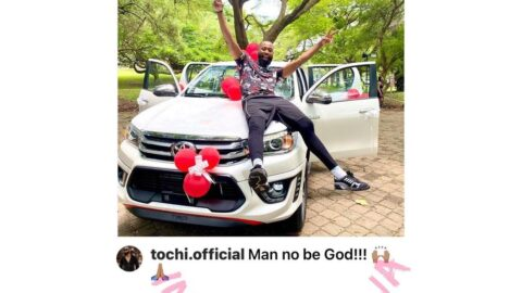 Days after being called a fail*re, reality TV star, Tochi, becomes a winner [Swipe]
