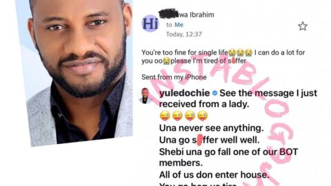 Actor Yul Edochie shares an email he got from an aspiring sugar baby