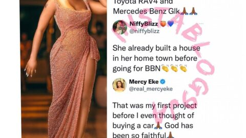 Reality TV Star, Mercy Eke, highlights her achievements in life before BBN