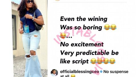 Whitemoney's win was so predictable and boring — Relationship expert, Blessing Okoro