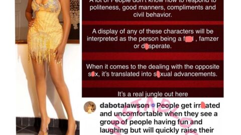 Why people misinterpret good manners in this part of the world — Ex-beauty Queen, Dabota Lawson