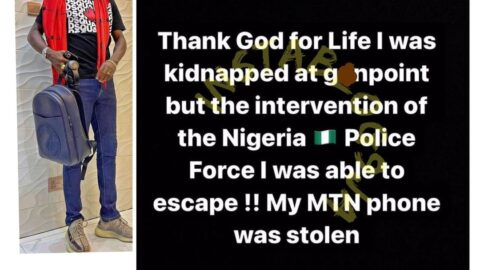 Media Personality Mr Jollof rescued after being kidnapped