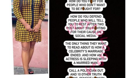 Actress Ruth Kadiri shares her thoughts on some national issues