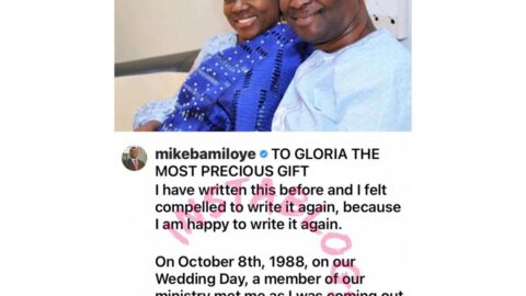 I'd have missed it in life, if I had married any of the sisters I proposed to before you — Clergyman Bamiloye tells wife [Swipe]