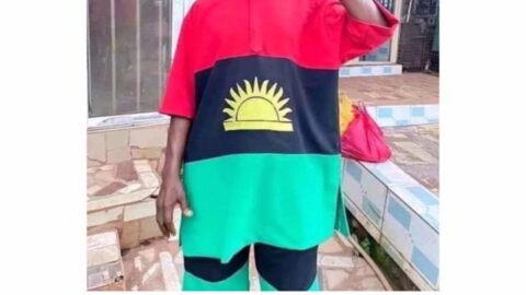IPOB Regalia: Actor Chiwetalu Agu rearrested by DSS shortly after he was released by the Army