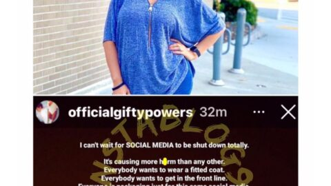 Why I want social media to be shut down totally — Reality TV Star, Gifty [Swipe]
