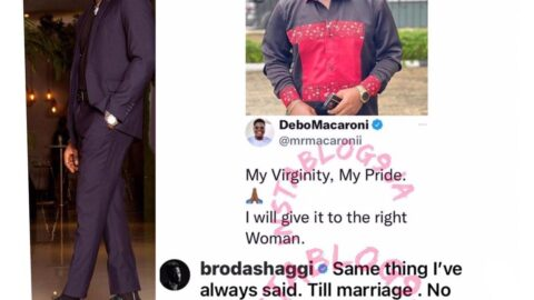 No woman will see my n*kedness until after marriage — Comedian Broda Shaggi
