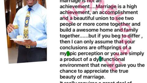 Marriage is a high achievement — Socialite PrettyMike