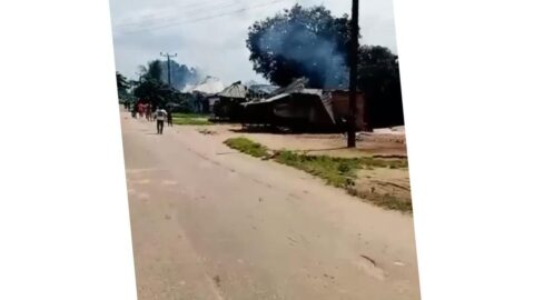Three k*lled, several houses razed, as soldiers raid Imo community .