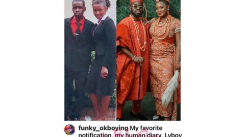 Secondary school classmates marry each other 17 years later [Swipe]