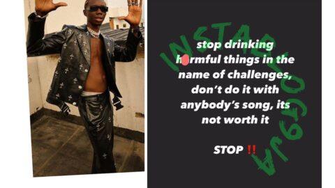 Rapper Blaqbonez warns fans doing the most on social media