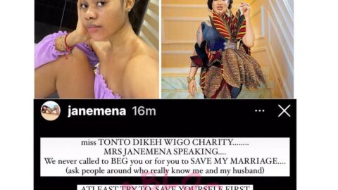 I'm giving you the go ahead to release the receipts either directly or indirectly — Dancer Jane Mena tells actress Tonto Dikeh. [Swipe]
