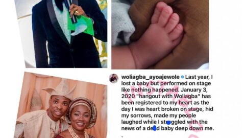 Last year, I lost a baby and still performed at an event. Now, God has restored my joy — Comedian Woli Agba
