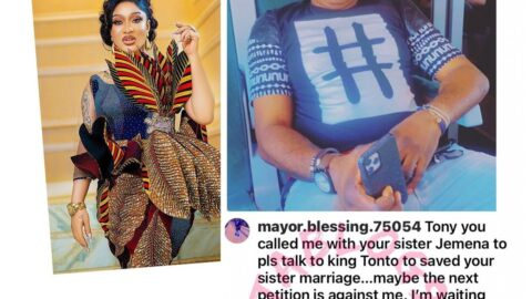 N500m lawsuit: Actress Tonto Dikeh's bestie and dancer Jane Mena's brother both speak [Swipe]