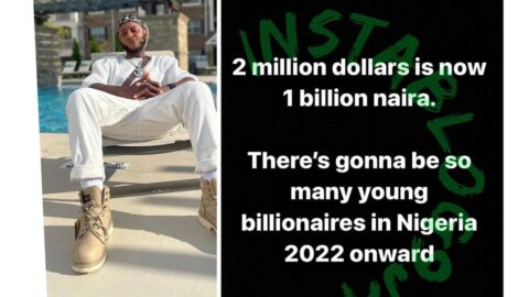 Why many young billionaires will emerge in Nigeria from 2022 — Rapper Yung6ix
