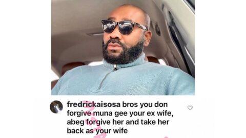 Actor Prince Eke appreciates an advisor offering pro bono services on Instagram