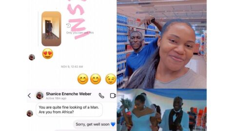 Nigerian man ties the knot with an American lady who slid into his DM   [Swipe]