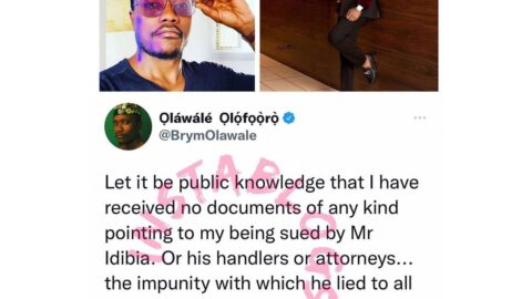 I'm yet to be sued by 2Face — Singer Brymo [Swipe]