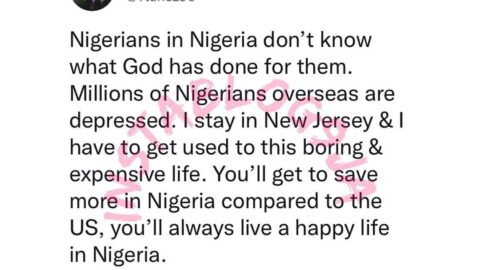 Compared to the US, you'll always live a happy life in Nigeria — US-based MC, Ttunez