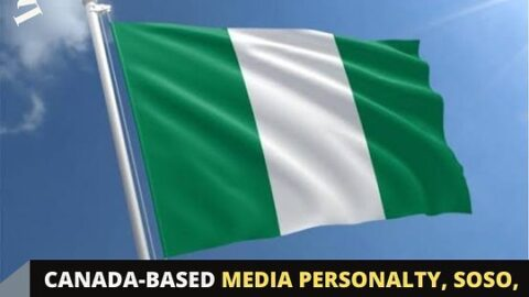 Canada-based Nigerian media personalty, Soso, questions why Nigerians hide their travel itinerary