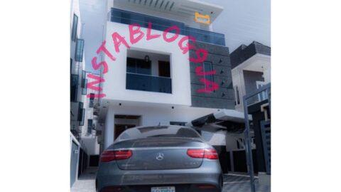 Davido's crewman, MoneyMaker, acquires a house in Lagos