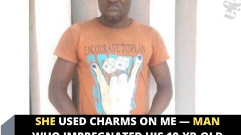 She used charms on me — Man who impregnated his 19-yr-old daughter