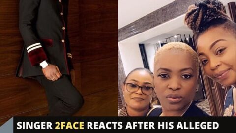 Singer 2Face Idibia reacts after his alleged relatives linked up with his first babymama