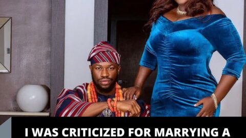 I was criticized for marrying a 42-yr-old lady — Actor Stan Nze