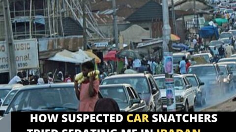 How suspected car snatchers tried sedating me in Ibadan — Cabbie