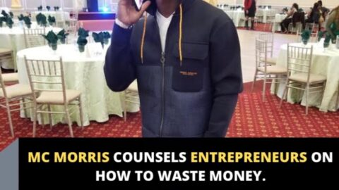 Mc Morris counsels entrepreneurs on how to waste money.