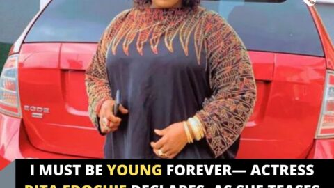 I must be young forever— Actress Rita Edochie declares, as she teases viewers with her Assets