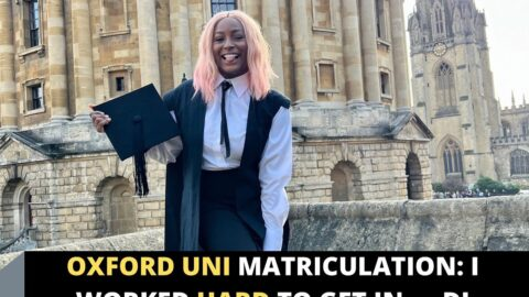 Oxford Uni Matriculation: I worked hard to get in — DJ Cuppy