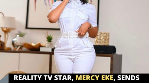 Reality TV Star, Mercy Eke, sends love and prayers to a tr*ll