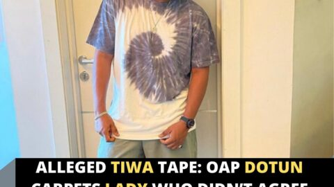 Alleged Tiwa Tape: OAP Dotun carpets lady who didn't agree with his take