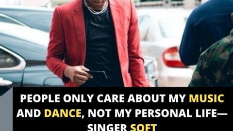 People only care about my music and dance, not my personal life— Singer Soft