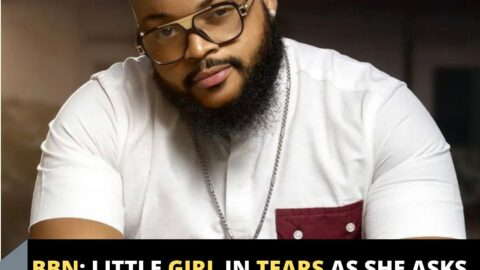 BBN: Little girl in tears as she asks to see WhiteMoney