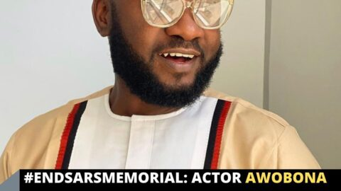 EndSARSMemorial: Actor Awobona cries out as Nigerians mistake his IG handle for that of Gov. SanwoOlu