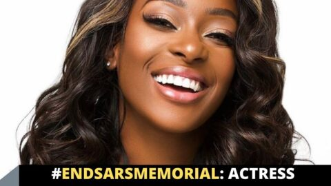 EndSARSMemorial: Actress Dorcas Fapson speaks
