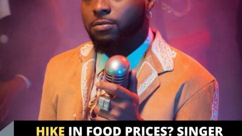 Hike in Food prices? Singer Davido embraces water diet