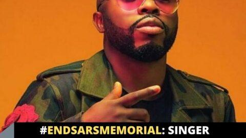 EndSARSMemorial: Singer Samklef calls out his colleagues