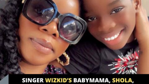 Singer Wizkid's babymama, Shola, shares a message she received from their son, Boluwatife